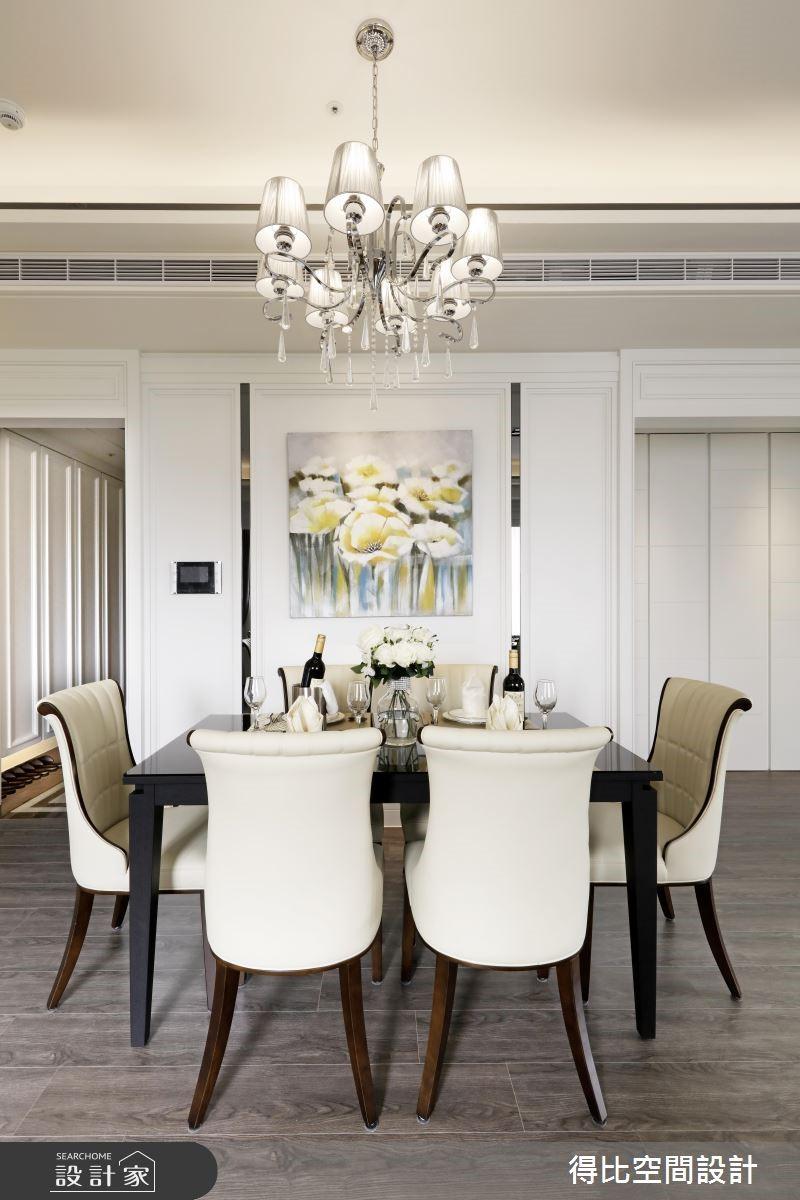 28坪新成屋(5年以下)_新古典餐廳案例圖片_得比空間設計有限公司_得比_32之7