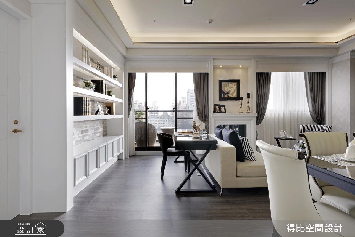 28坪新成屋(5年以下)_新古典書房案例圖片_得比空間設計有限公司_得比_32之8