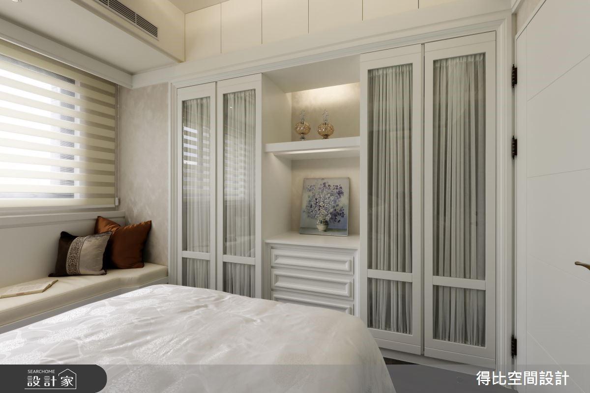 28坪新成屋(5年以下)_新古典臥榻臥室客房案例圖片_得比空間設計有限公司_得比_32之15