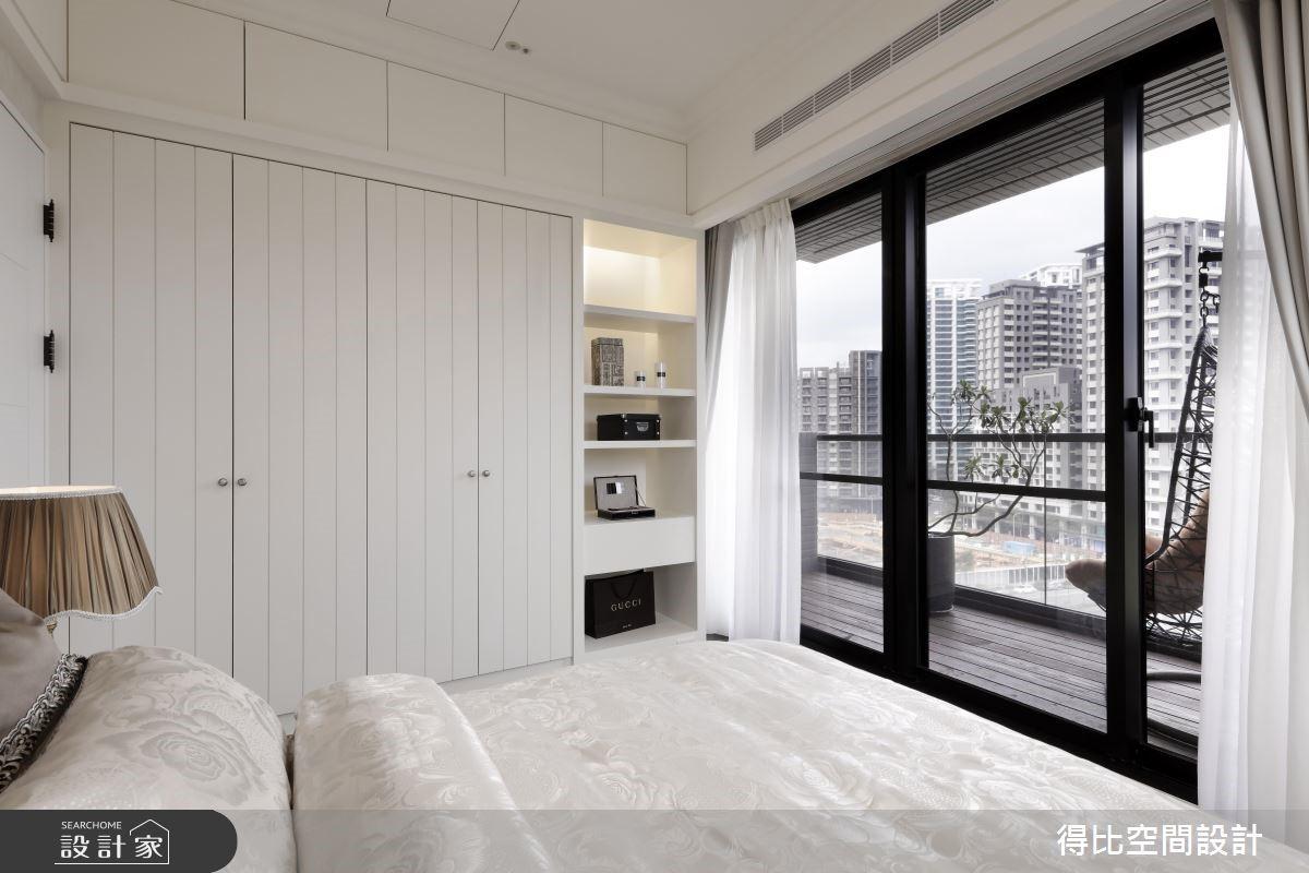 28坪新成屋(5年以下)_新古典臥室客房案例圖片_得比空間設計有限公司_得比_32之12