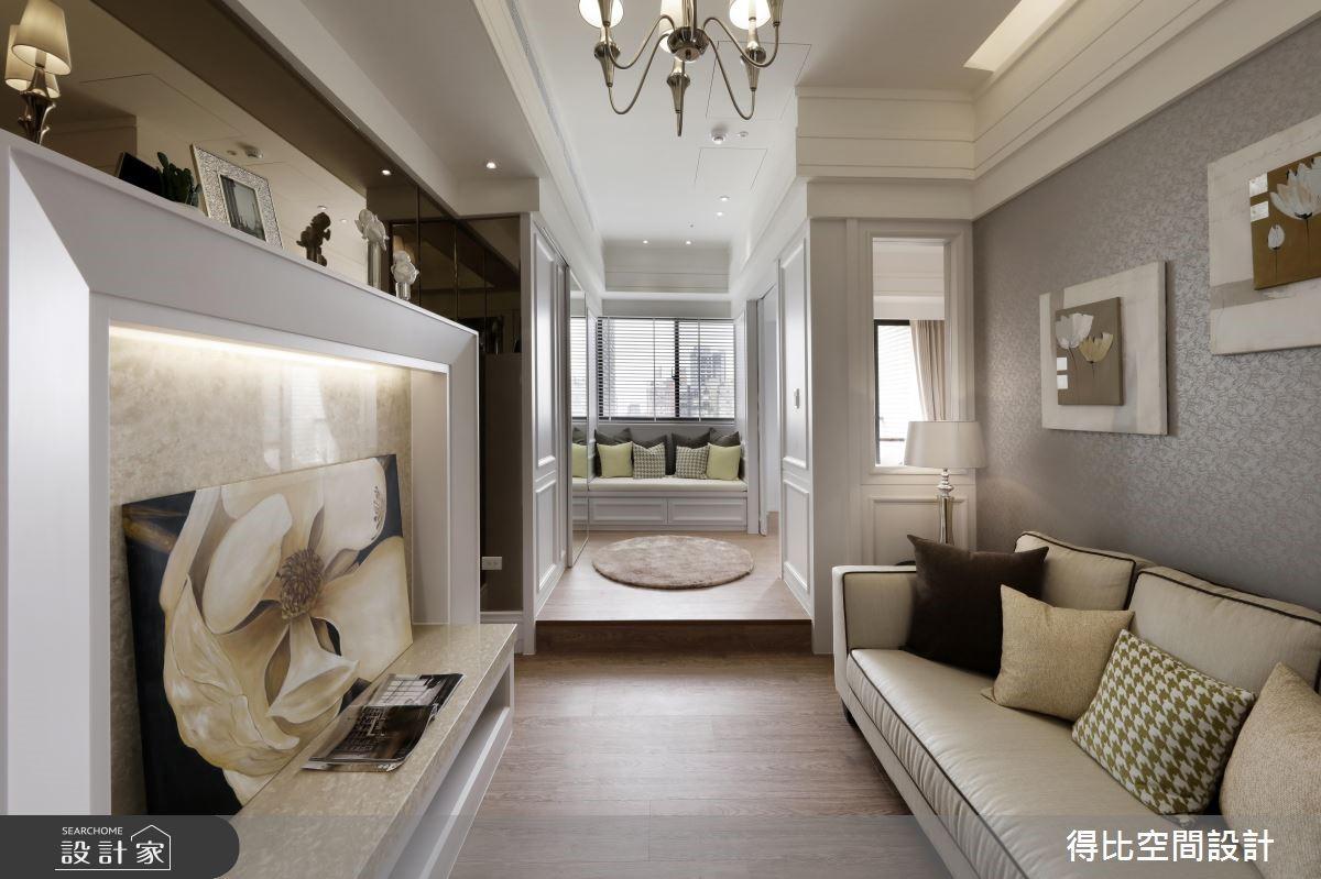 13坪新成屋(5年以下)_美式風客廳臥榻案例圖片_得比空間設計有限公司_得比_34之1