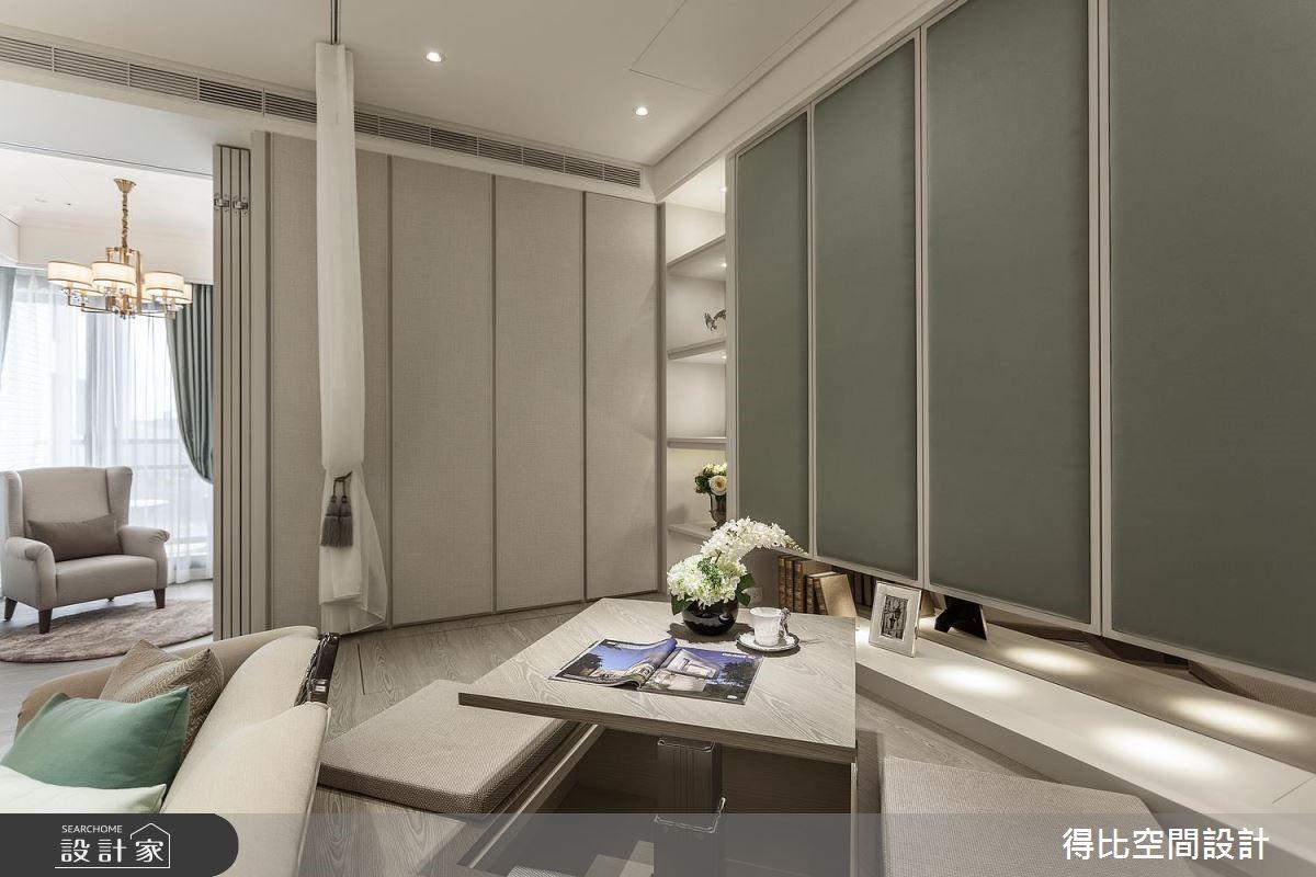 15坪新成屋(5年以下)_美式風和室案例圖片_得比空間設計有限公司_得比_36之8