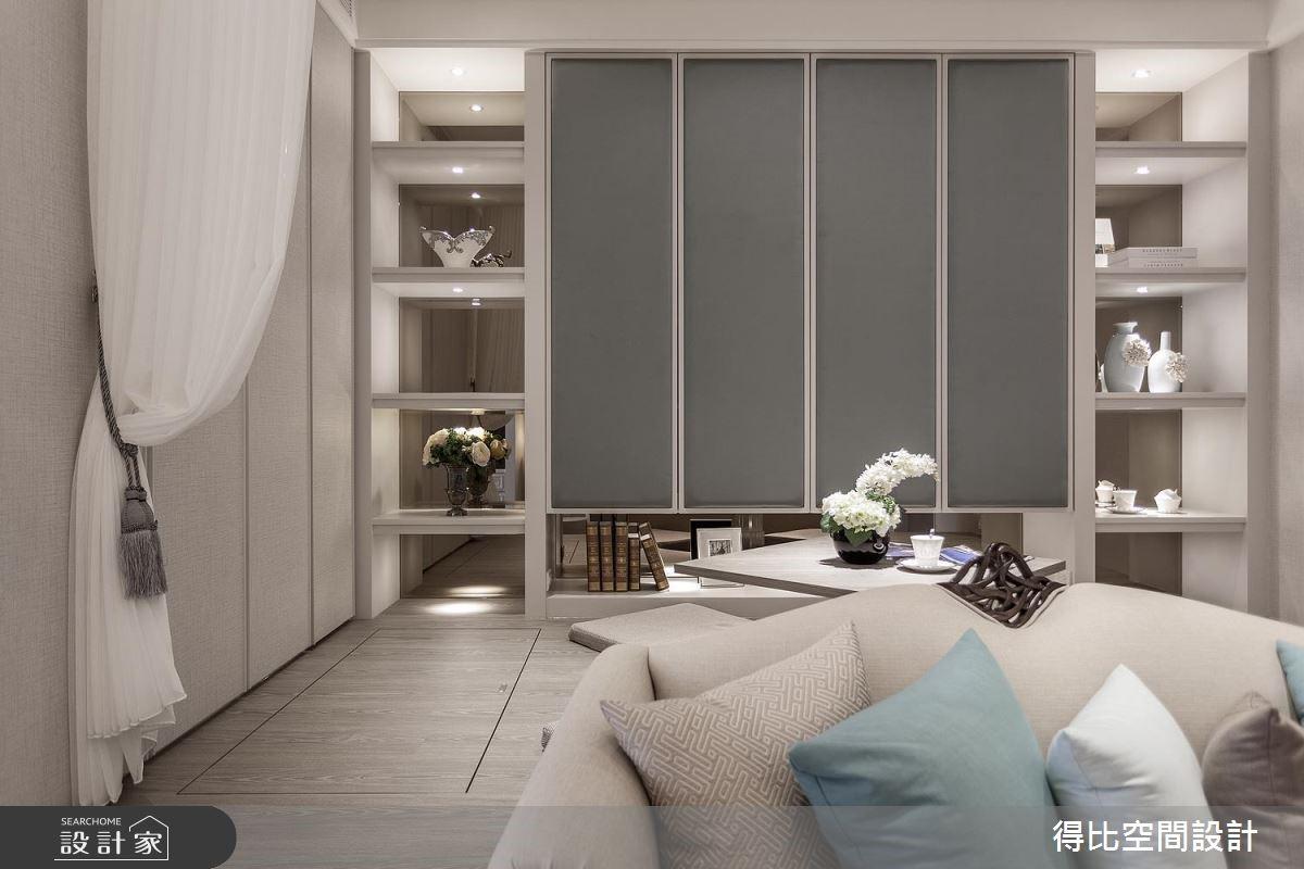 15坪新成屋(5年以下)_美式風客廳和室案例圖片_得比空間設計有限公司_得比_36之6
