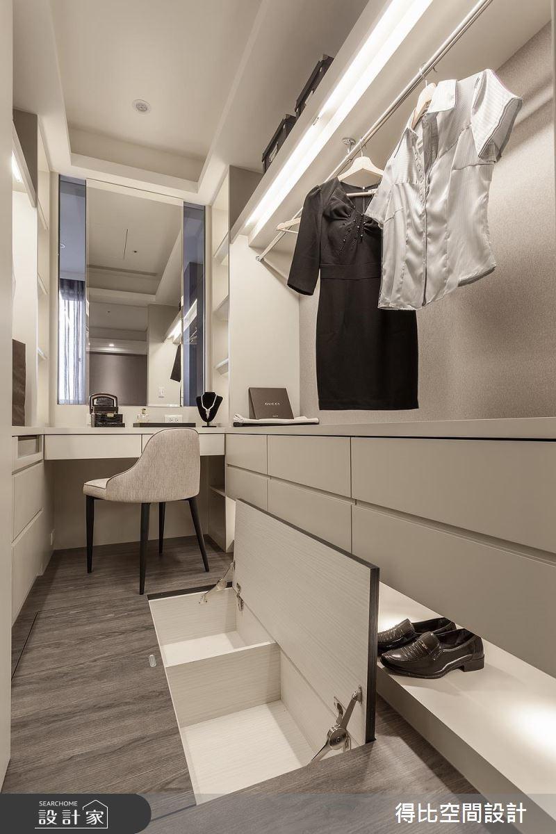 15坪新成屋(5年以下)_現代風更衣間案例圖片_得比空間設計有限公司_得比_37之15