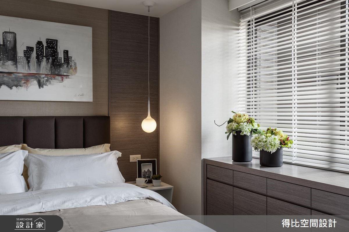 17坪新成屋(5年以下)_北歐風臥室案例圖片_得比空間設計有限公司_得比_38之13