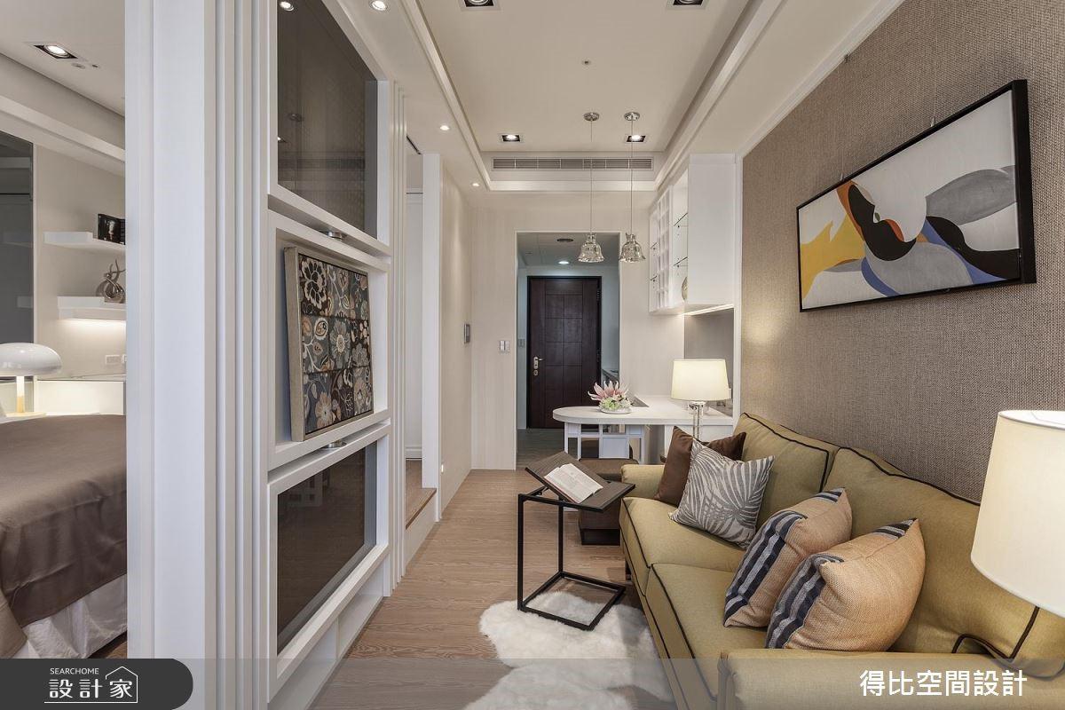 11坪新成屋(5年以下)_奢華風玄關案例圖片_得比空間設計有限公司_得比_39之3