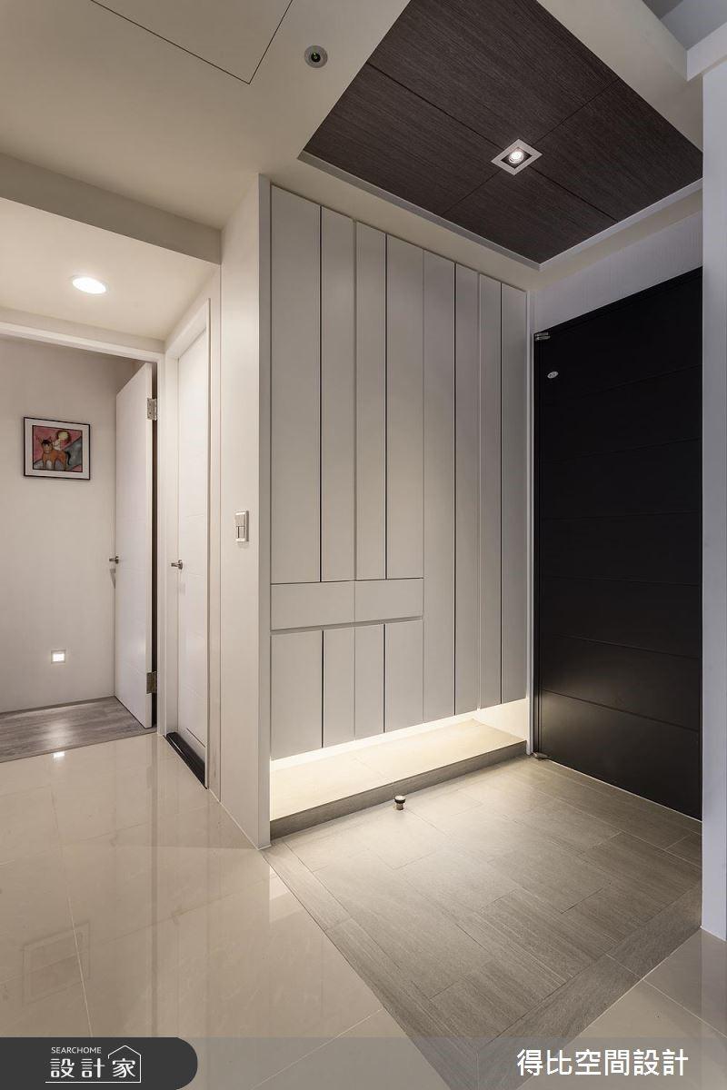 20坪新成屋(5年以下)_現代風玄關案例圖片_得比空間設計有限公司_得比_40之2