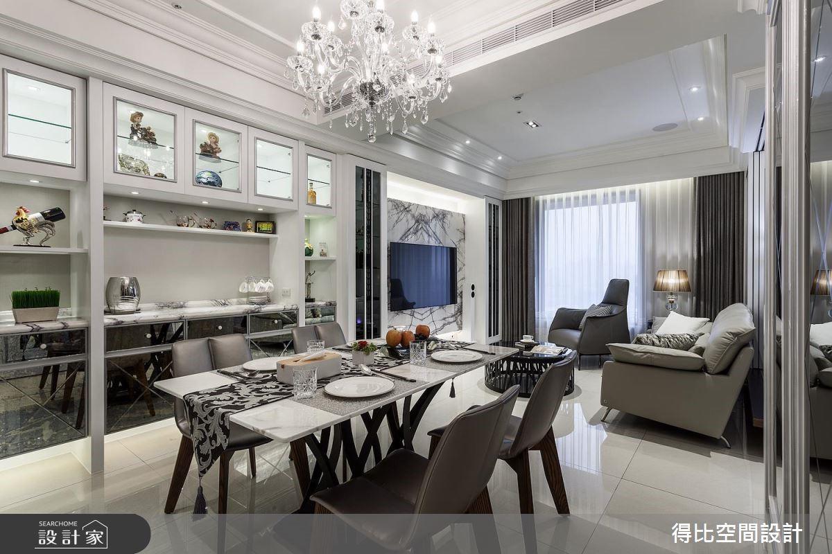26坪新成屋(5年以下)_新古典餐廳案例圖片_得比空間設計有限公司_得比_43之4