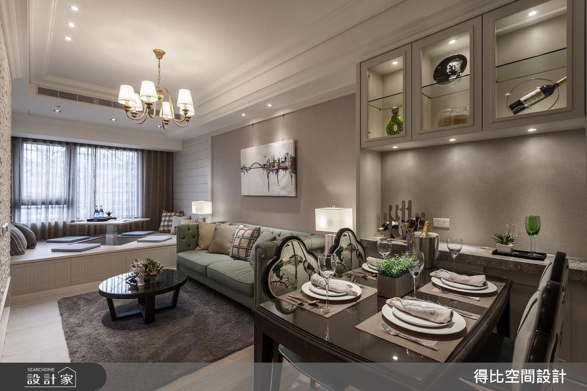 19坪新成屋(5年以下)_美式風客廳餐廳和室案例圖片_得比空間設計有限公司_得比_44之3