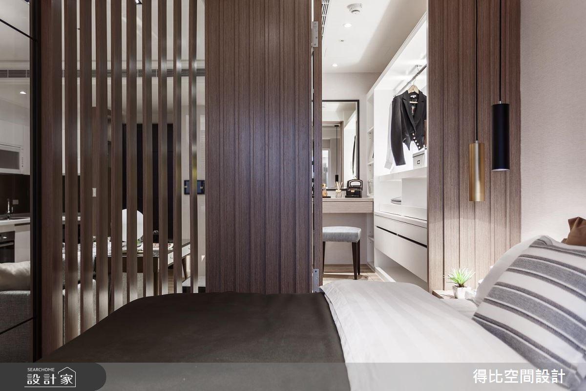 13坪新成屋(5年以下)_北歐風臥室客房更衣間案例圖片_得比空間設計有限公司_得比_45之13