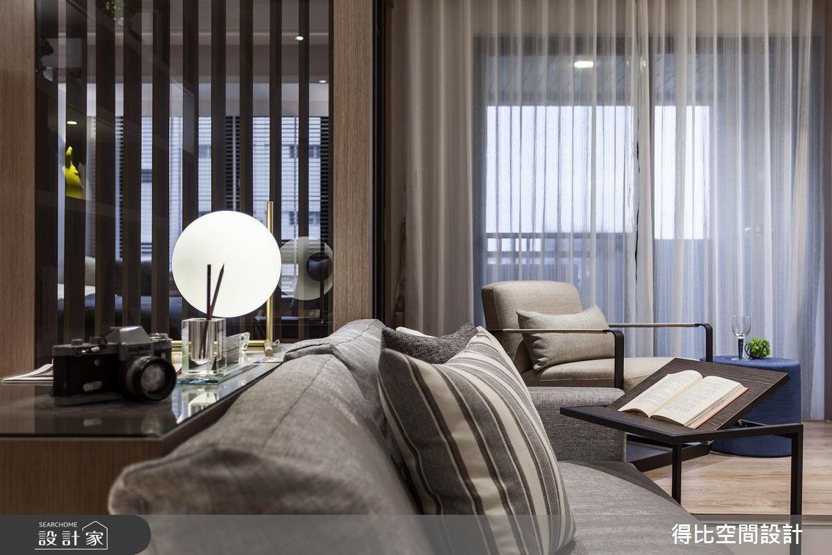 13坪新成屋(5年以下)_北歐風客廳書房案例圖片_得比空間設計有限公司_得比_45之4