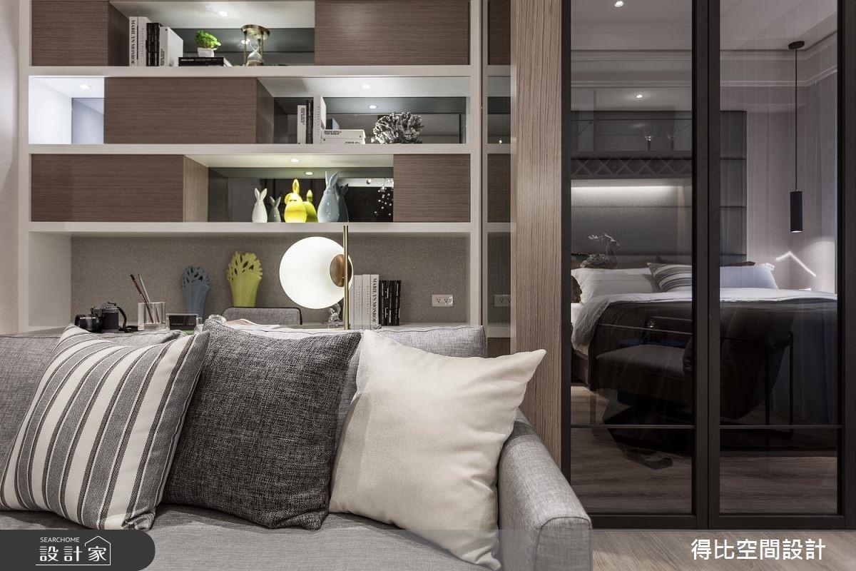 13坪新成屋(5年以下)_北歐風客廳書房案例圖片_得比空間設計有限公司_得比_45之3
