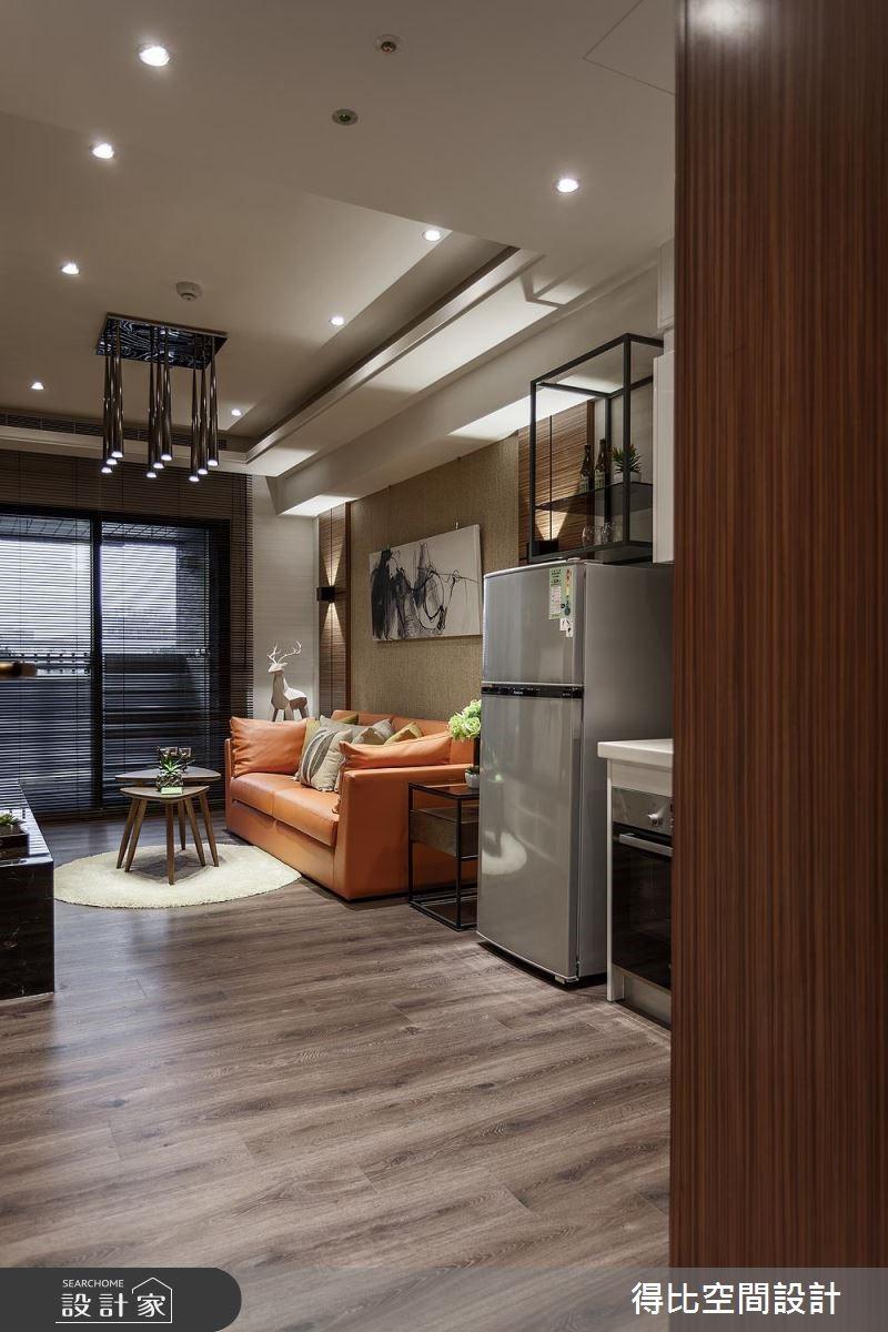 13坪新成屋(5年以下)_休閒風玄關客廳案例圖片_得比空間設計有限公司_得比_46之1