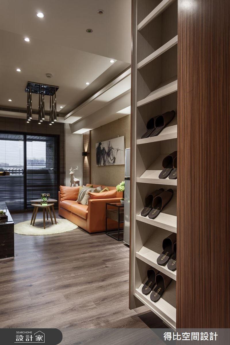 13坪新成屋(5年以下)_休閒風玄關客廳案例圖片_得比空間設計有限公司_得比_46之2