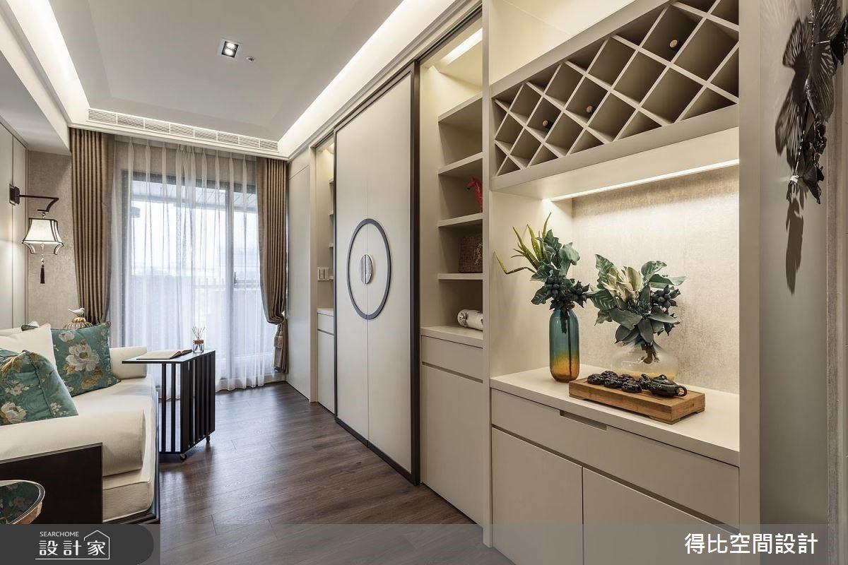 13坪新成屋(5年以下)_新中式風客廳案例圖片_得比空間設計有限公司_得比_47之2