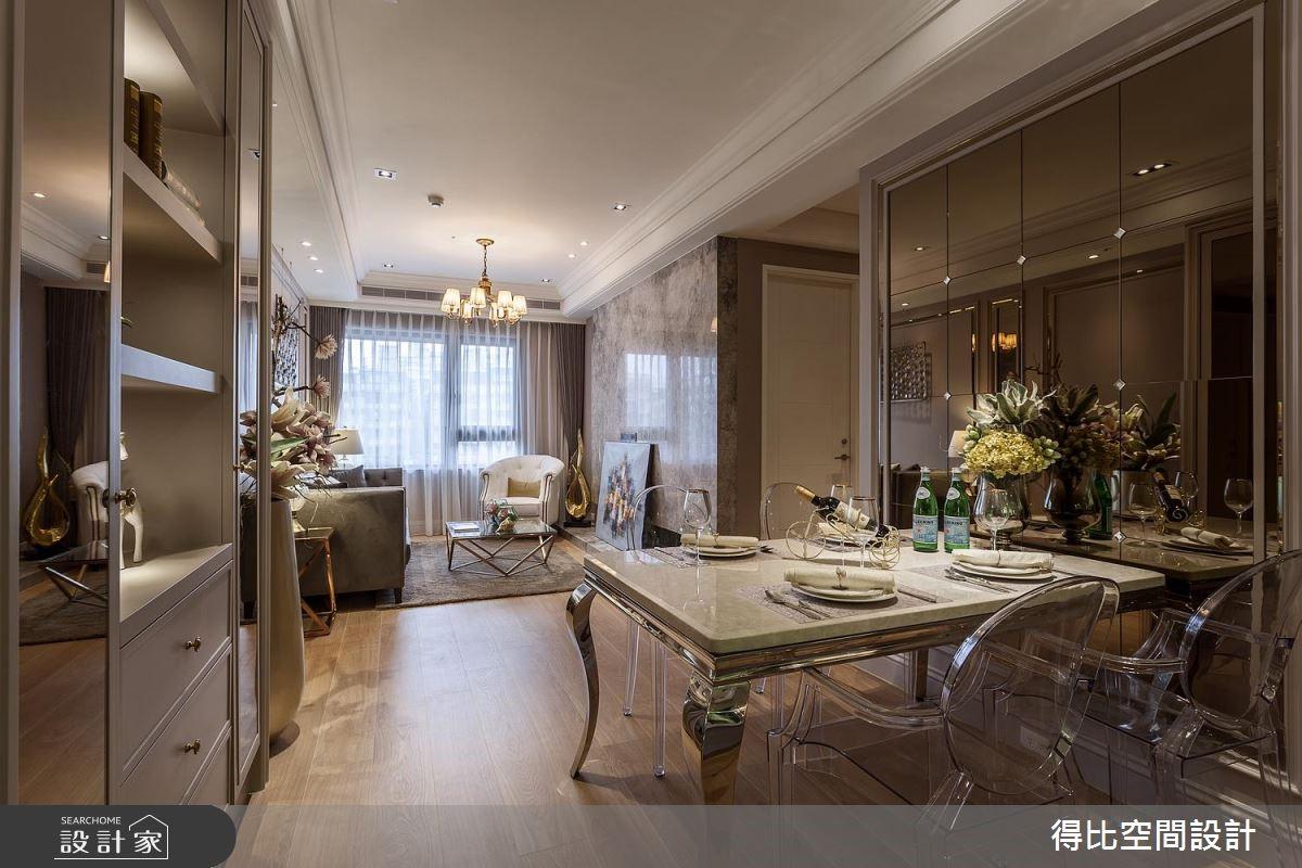 24坪新成屋(5年以下)_新古典餐廳案例圖片_得比空間設計有限公司_得比_49之3