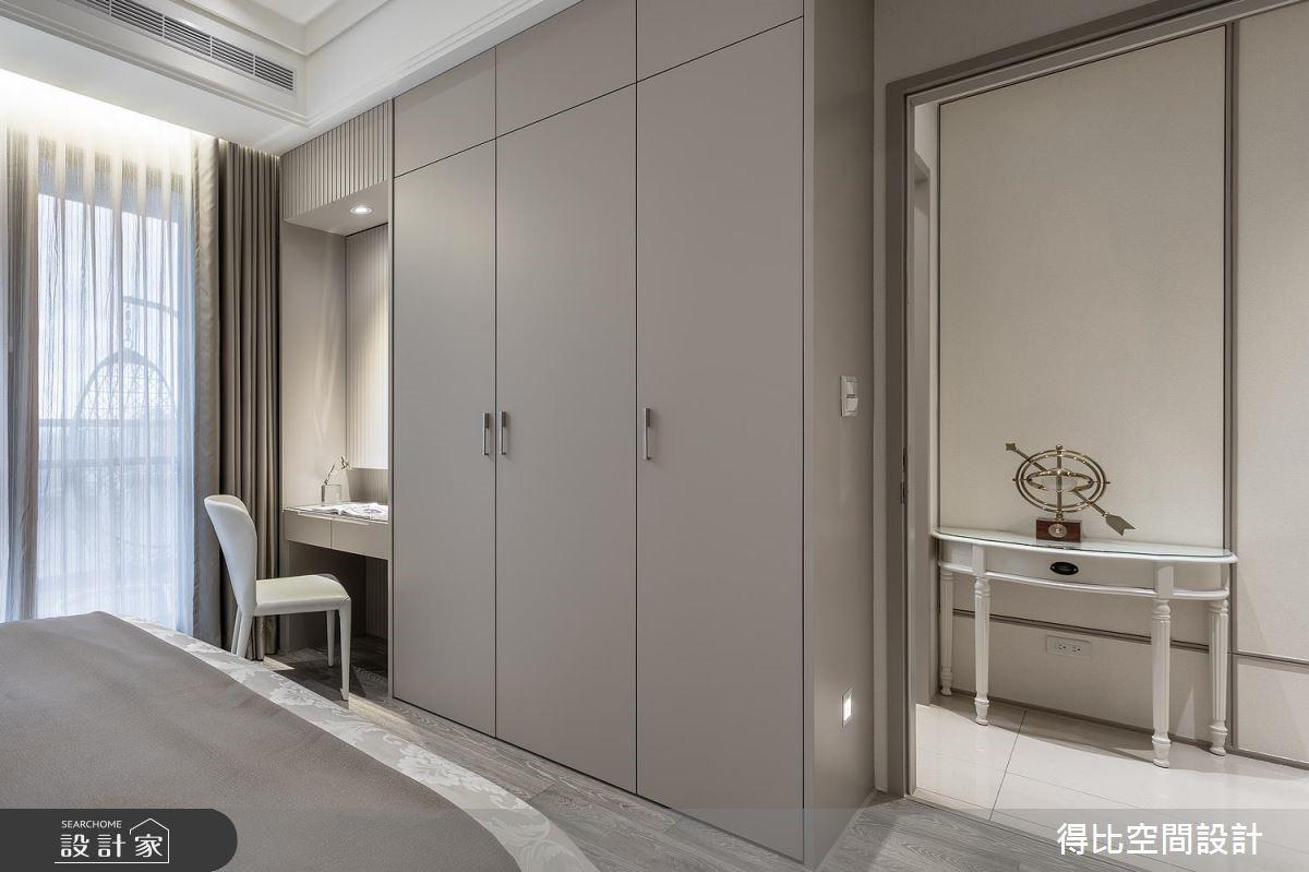 17坪新成屋(5年以下)_奢華風臥室客房案例圖片_得比空間設計有限公司_得比_57之11