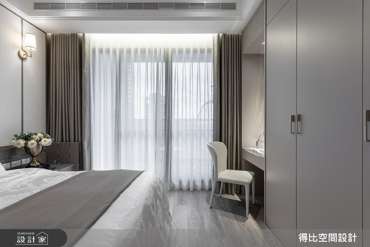 17坪新成屋(5年以下)_奢華風臥室客房案例圖片_得比空間設計有限公司_得比_57之10