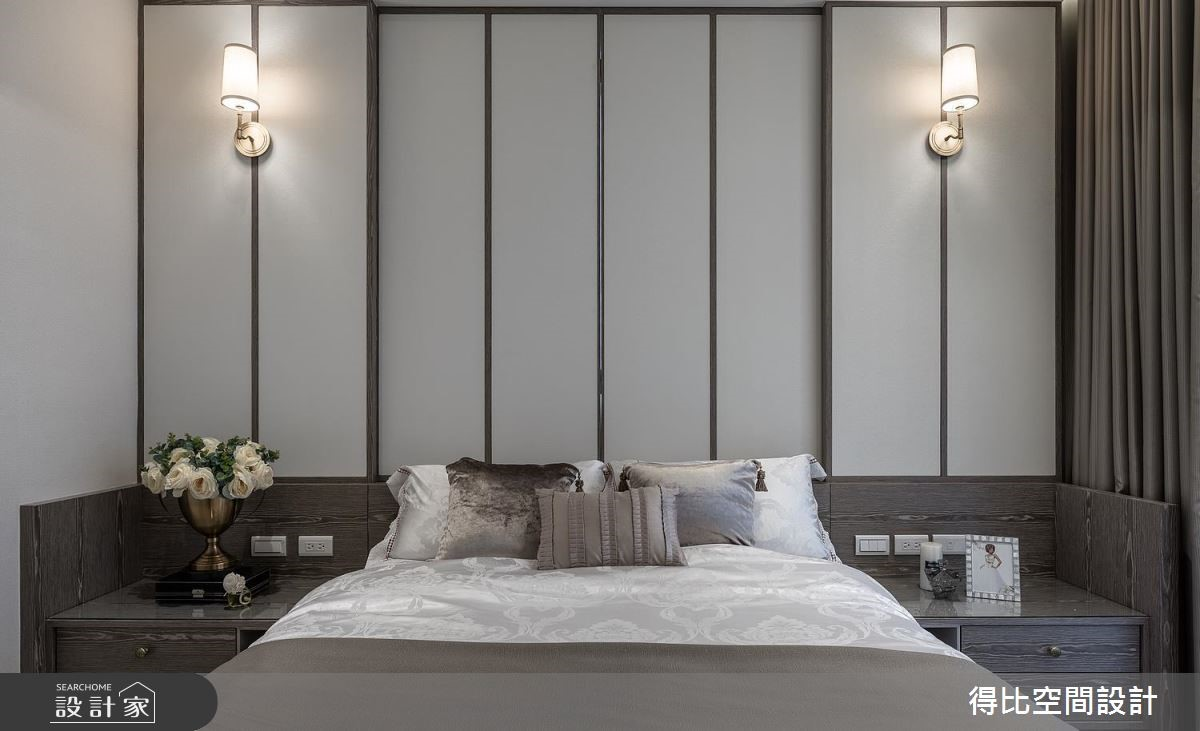 17坪新成屋(5年以下)_奢華風臥室客房案例圖片_得比空間設計有限公司_得比_57之9