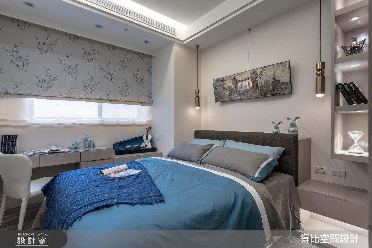17坪新成屋(5年以下)_奢華風臥室客房案例圖片_得比空間設計有限公司_得比_57之12