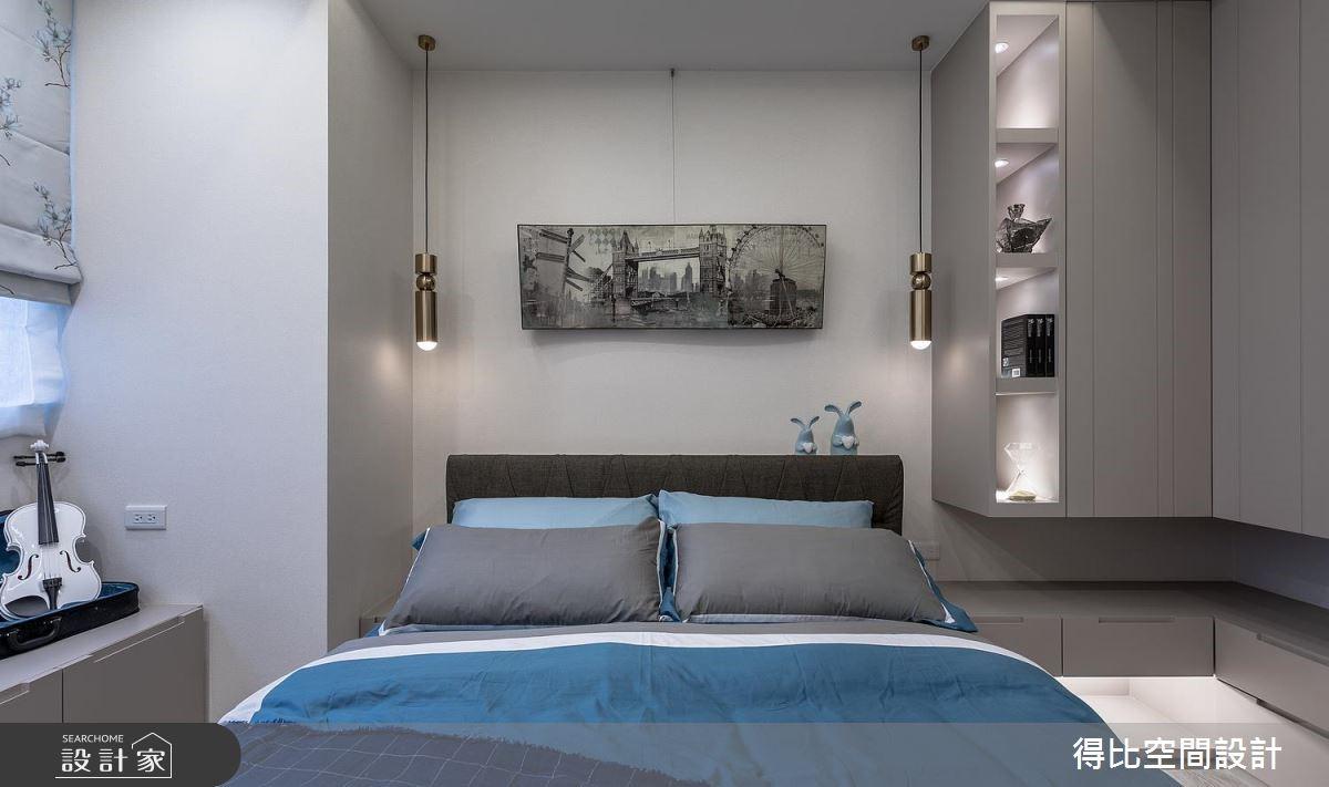 17坪新成屋(5年以下)_奢華風臥室客房案例圖片_得比空間設計有限公司_得比_57之13