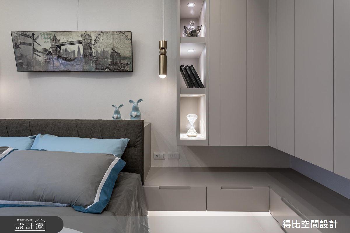 17坪新成屋(5年以下)_奢華風臥室客房案例圖片_得比空間設計有限公司_得比_57之14