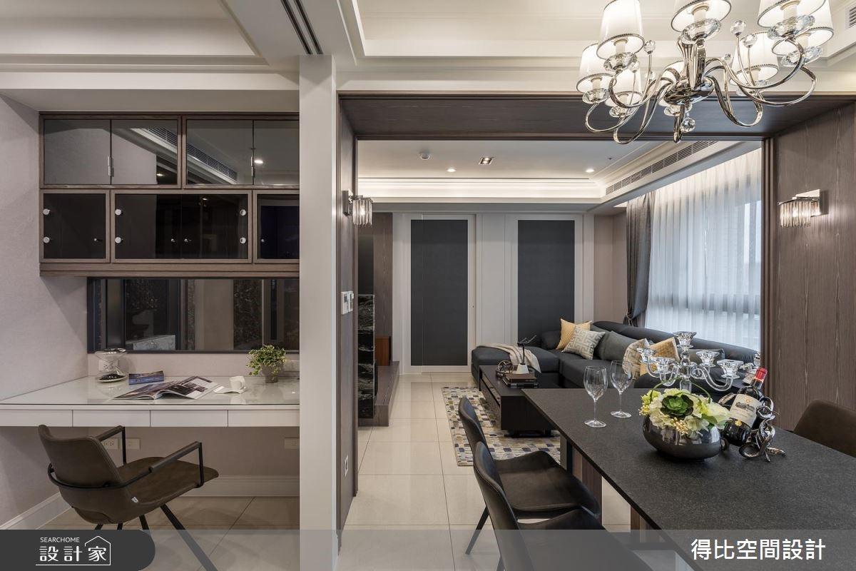 35坪新成屋(5年以下)_現代風餐廳書房案例圖片_得比空間設計有限公司_得比_60之10