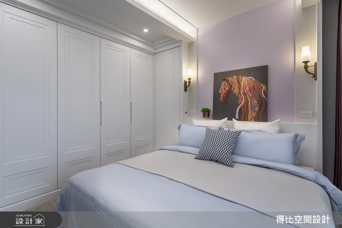 35坪新成屋(5年以下)_現代風臥室客房案例圖片_得比空間設計有限公司_得比_60之15