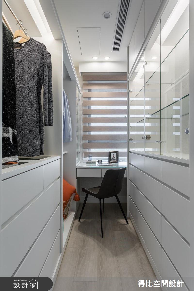 35坪新成屋(5年以下)_現代風更衣間案例圖片_得比空間設計有限公司_得比_60之17