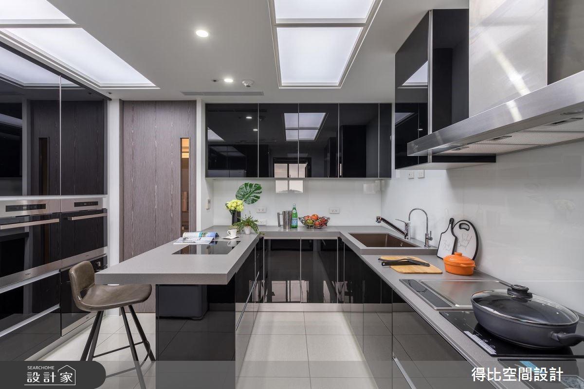 35坪新成屋(5年以下)_現代風廚房吧檯案例圖片_得比空間設計有限公司_得比_60之11