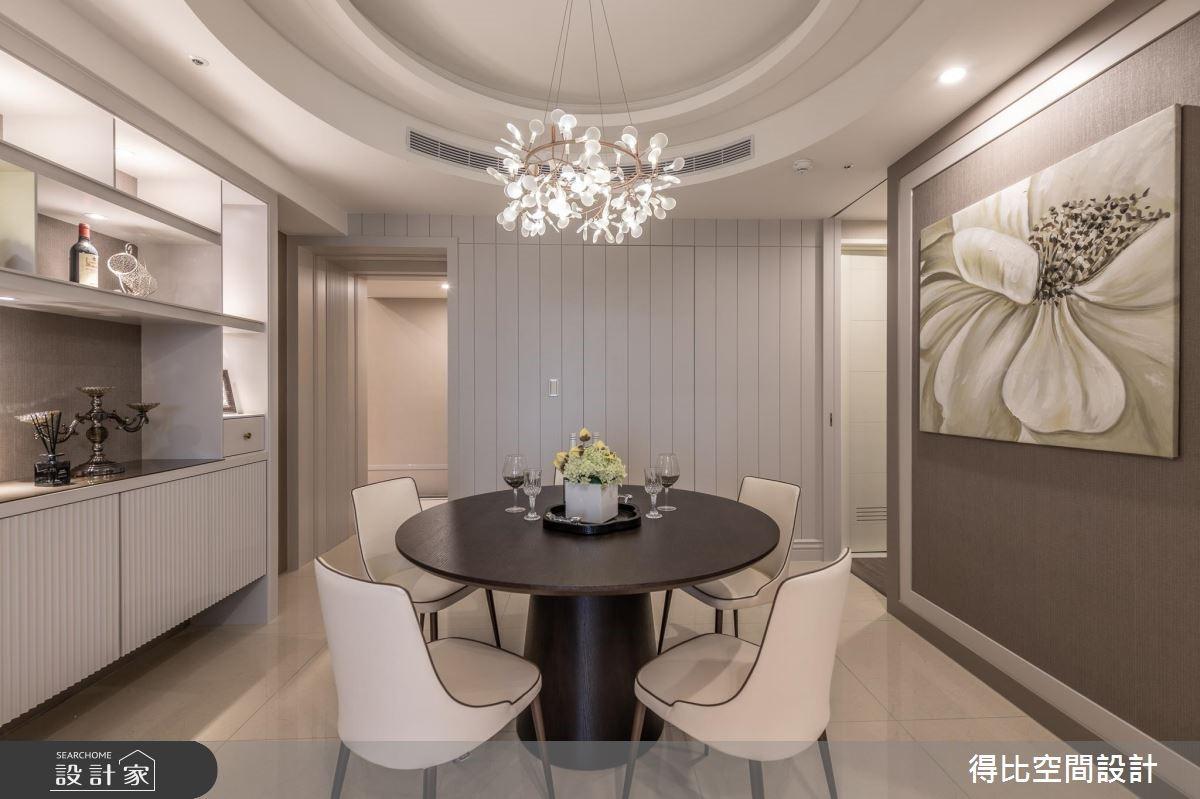 26坪新成屋(5年以下)_新古典餐廳案例圖片_得比空間設計有限公司_得比_61之2