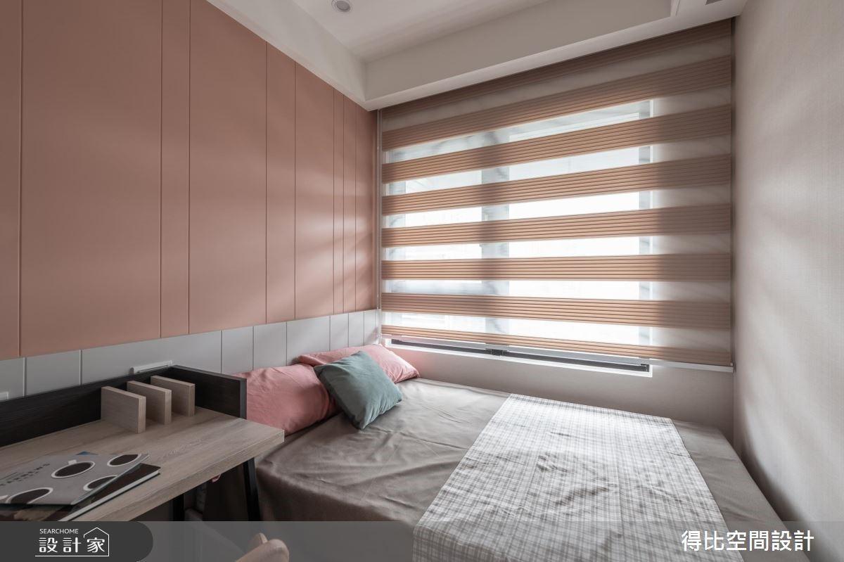 26坪新成屋(5年以下)_新古典臥室客房案例圖片_得比空間設計有限公司_得比_61之14