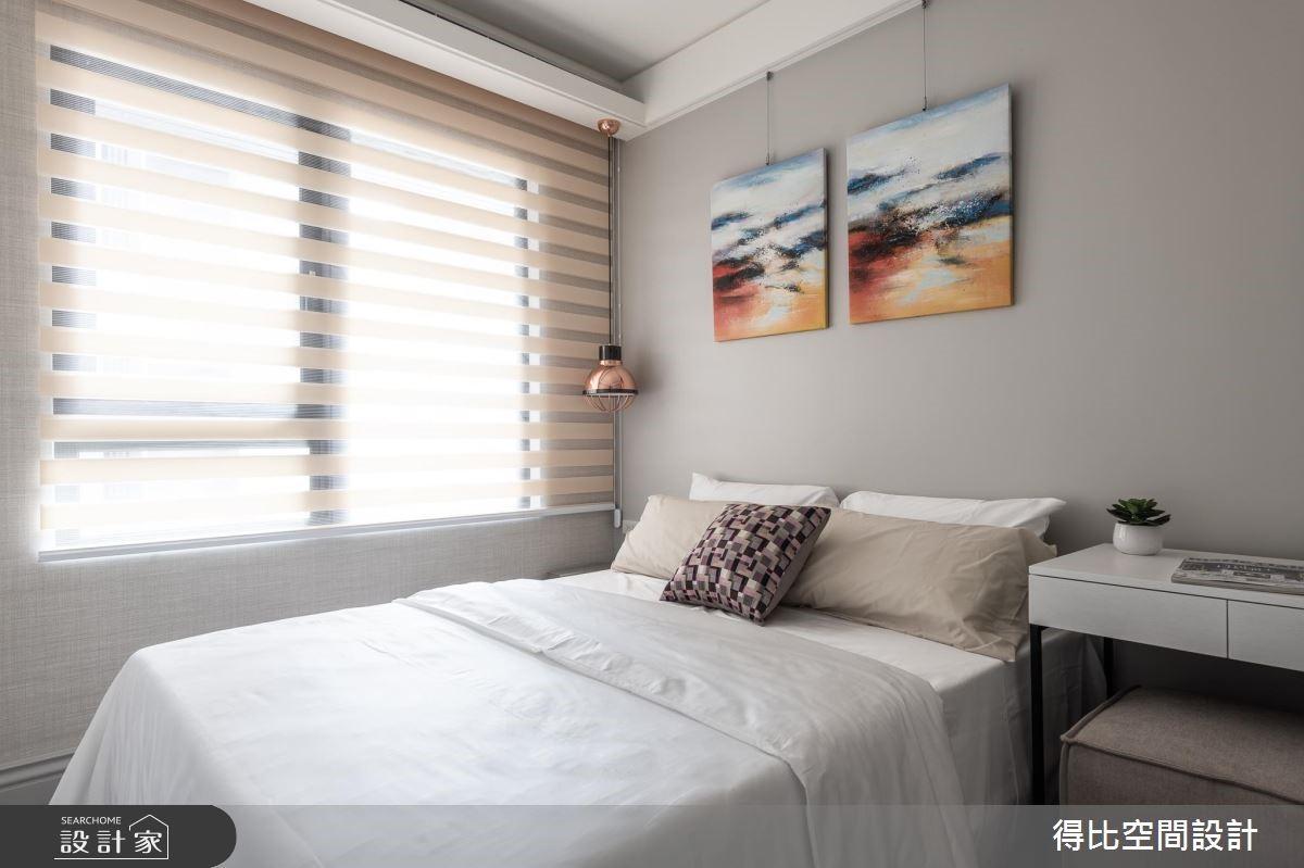 26坪新成屋(5年以下)_新古典臥室客房案例圖片_得比空間設計有限公司_得比_61之15
