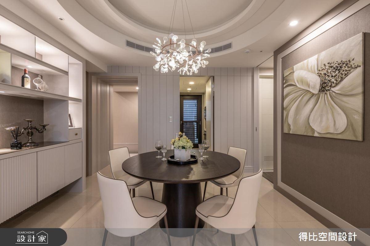 26坪新成屋(5年以下)_新古典餐廳案例圖片_得比空間設計有限公司_得比_61之3