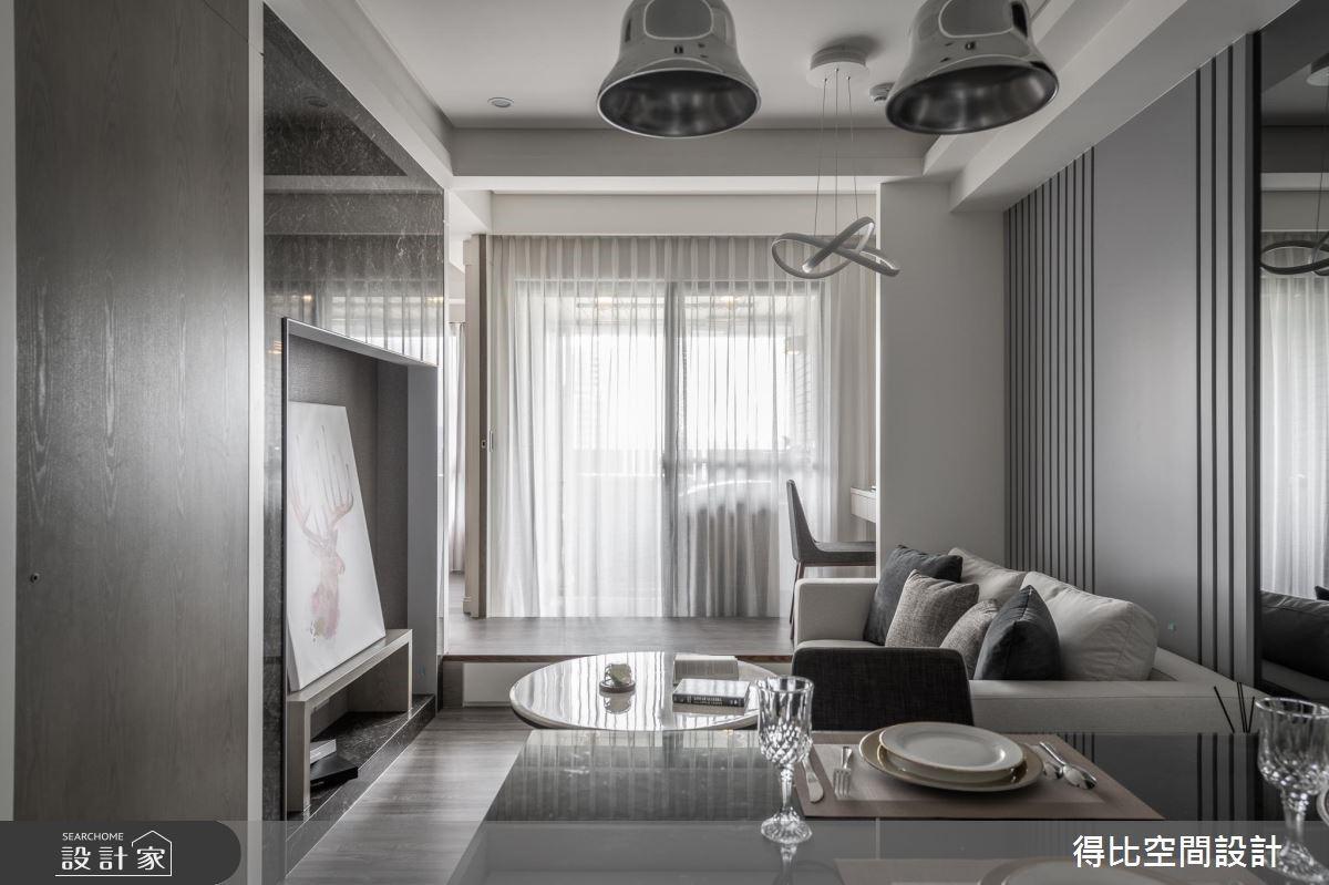 13坪新成屋(5年以下)_現代風客廳餐廳書房案例圖片_得比空間設計有限公司_得比_63之3