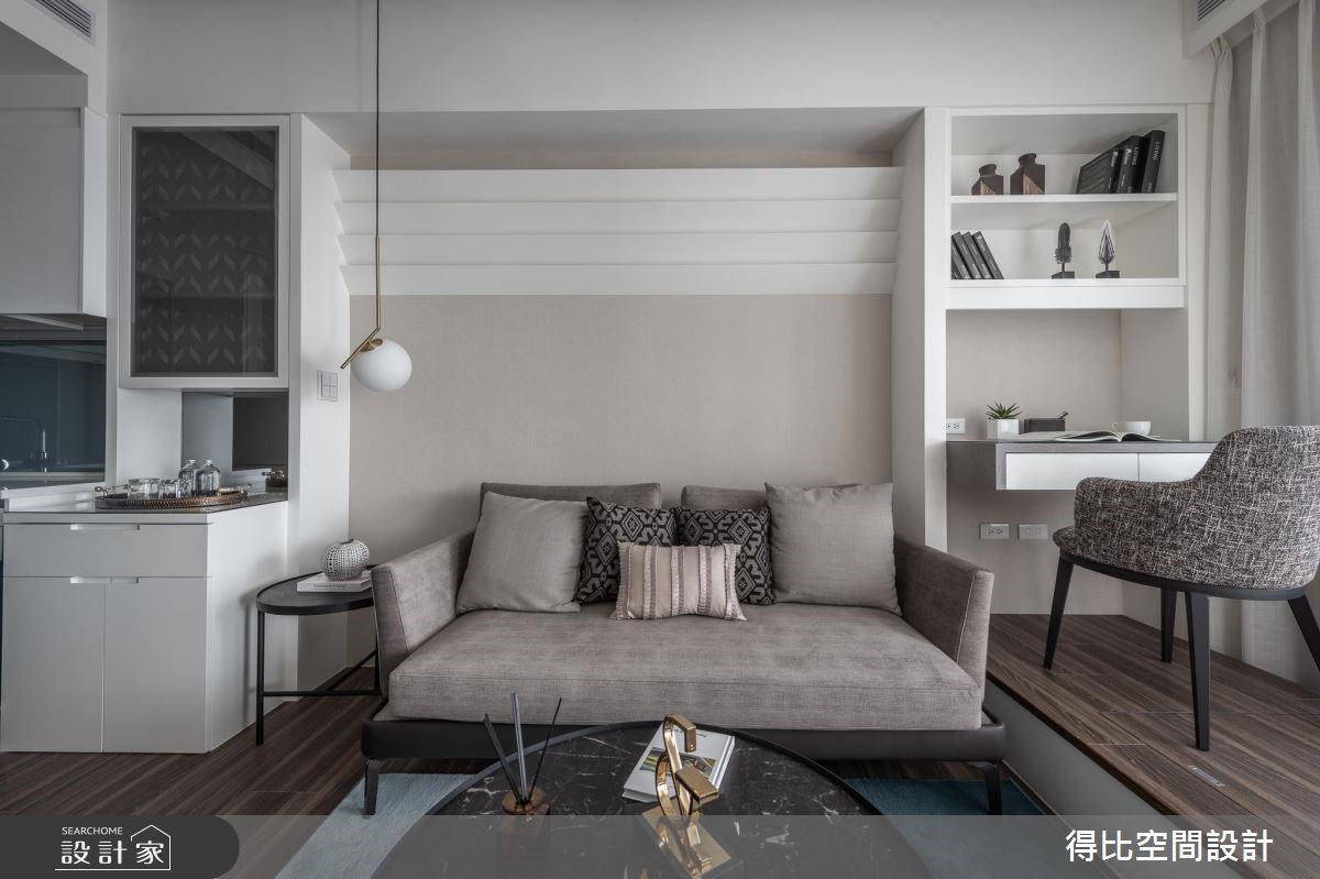 13坪新成屋(5年以下)_現代風客廳書房案例圖片_得比空間設計有限公司_得比_64之3