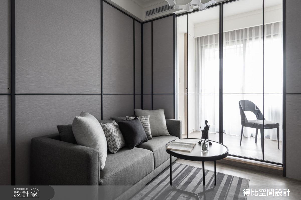 13坪新成屋(5年以下)_現代風客廳案例圖片_得比空間設計有限公司_得比_66之3