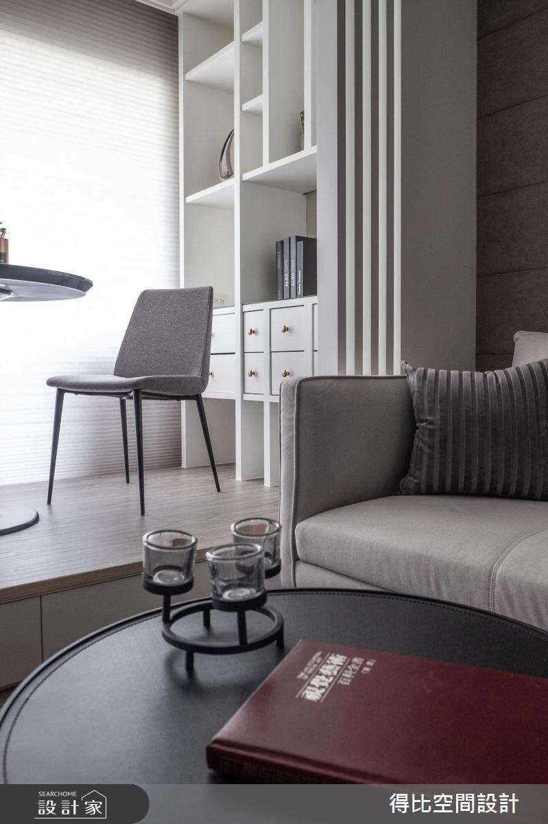 13坪新成屋(5年以下)_現代風客廳餐廳案例圖片_得比空間設計有限公司_得比_67之4