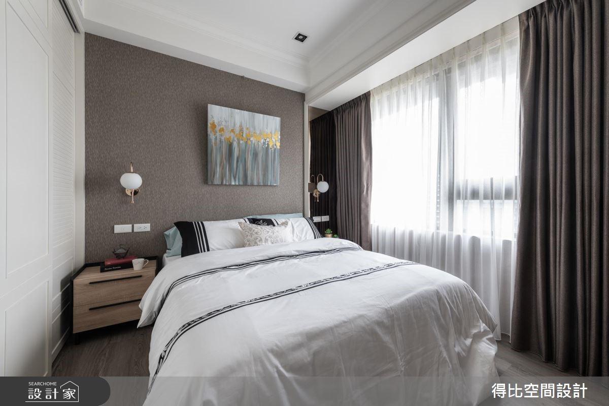 13坪新成屋(5年以下)_美式風臥室客房案例圖片_得比空間設計有限公司_得比_68之12