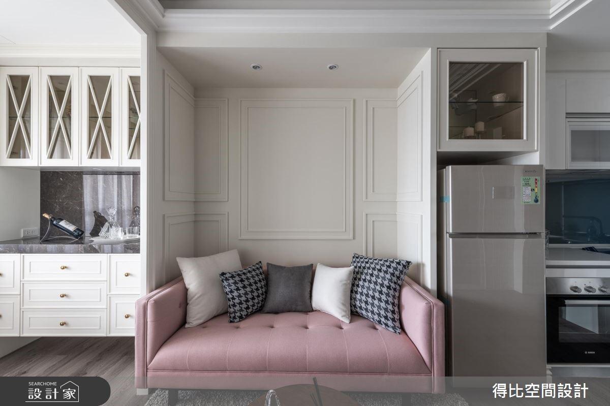 13坪新成屋(5年以下)_美式風客廳廚房案例圖片_得比空間設計有限公司_得比_68之4