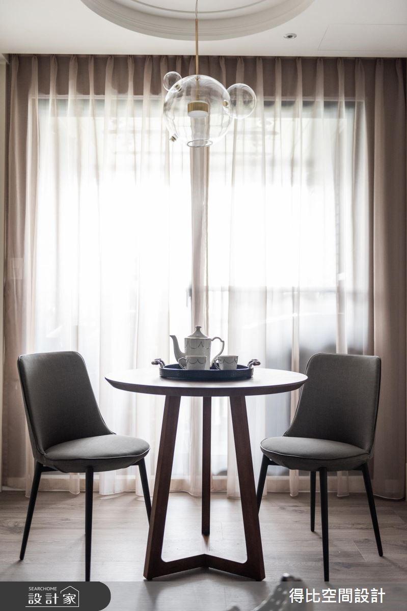 13坪新成屋(5年以下)_美式風客廳餐廳案例圖片_得比空間設計有限公司_得比_68之6