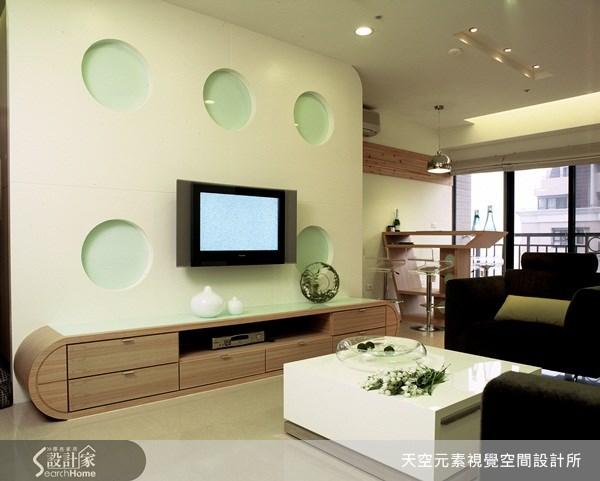 28坪新成屋(5年以下)_簡約風案例圖片_天空元素視覺空間設計所_天空元素_10之2