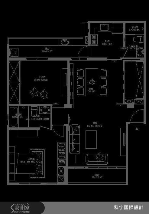 35坪中古屋(5~15年)_現代風案例圖片_科宇國際設計_科宇_02之13