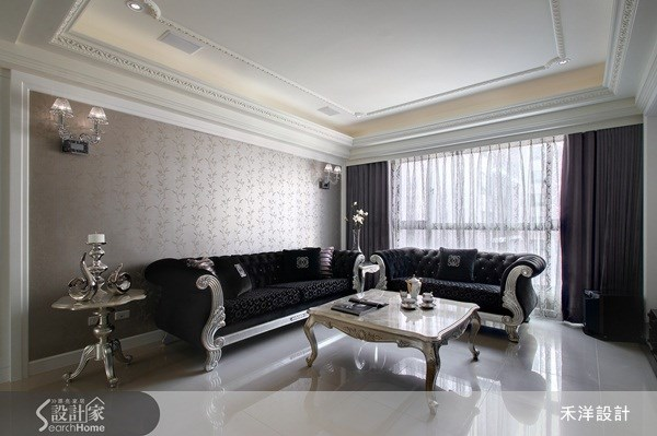48坪新成屋(5年以下)_奢華風案例圖片_禾洋空間設計_禾洋_10之1