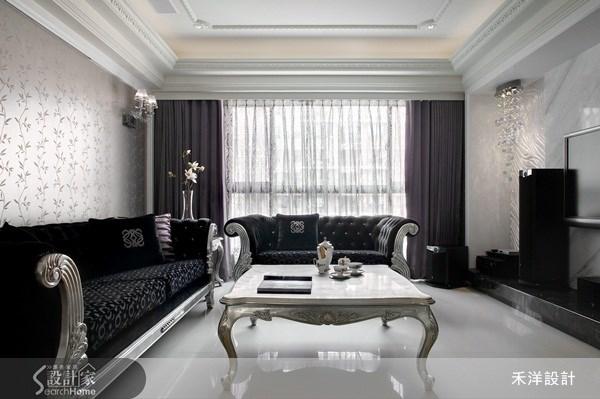 48坪新成屋(5年以下)_奢華風案例圖片_禾洋空間設計_禾洋_10之2