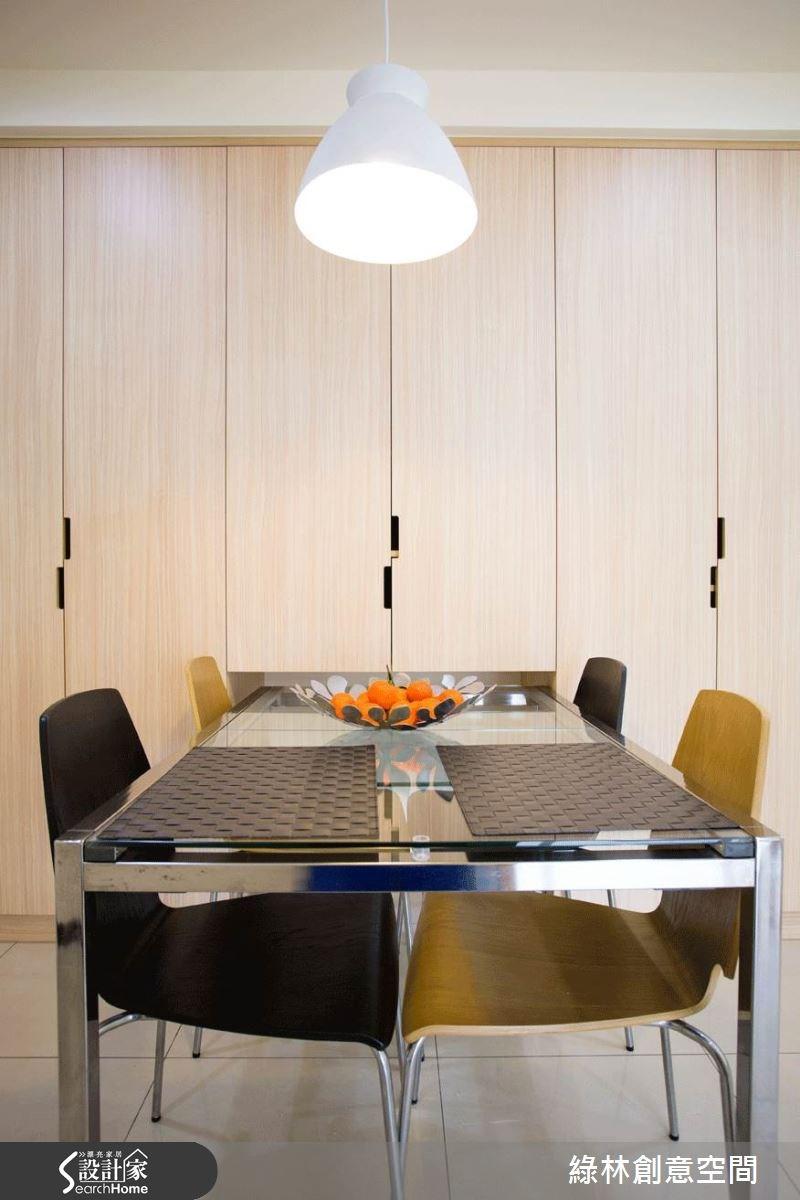 27坪新成屋(5年以下)_簡約風餐廳案例圖片_綠林創意空間_綠林_01之7