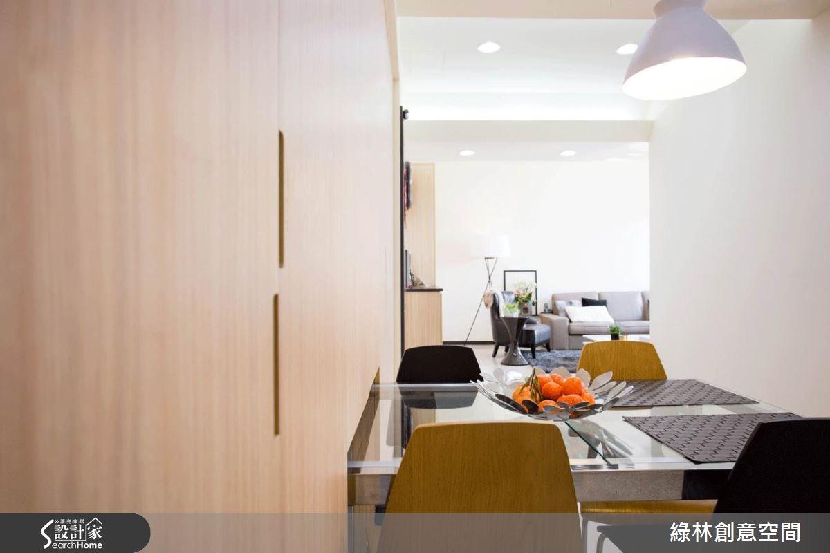 27坪新成屋(5年以下)_簡約風餐廳案例圖片_綠林創意空間_綠林_01之8