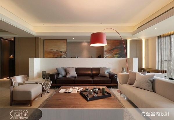 50坪新成屋(5年以下)_現代風客廳案例圖片_尚藝室內設計_尚藝_09之3