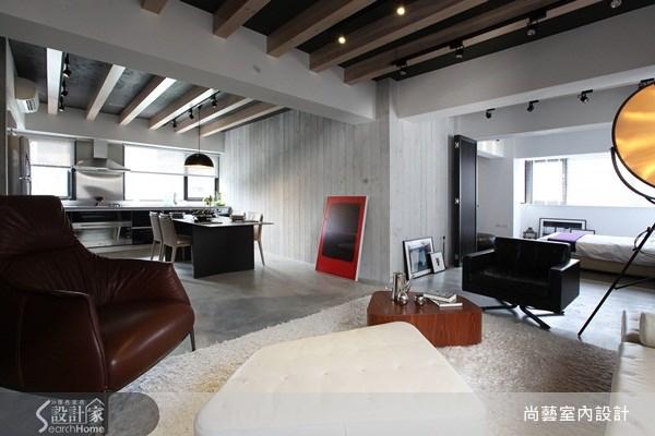 30坪老屋(16~30年)_工業風客廳案例圖片_尚藝室內設計_尚藝_14旅遊節目主持人的家之9