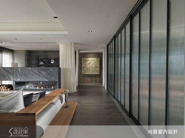 70坪_美式風走廊案例圖片_尚藝室內設計_尚藝_24國家美術館墨方之3